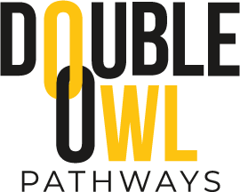 Kennesaw State University Double Owl logo; Link to website for more information